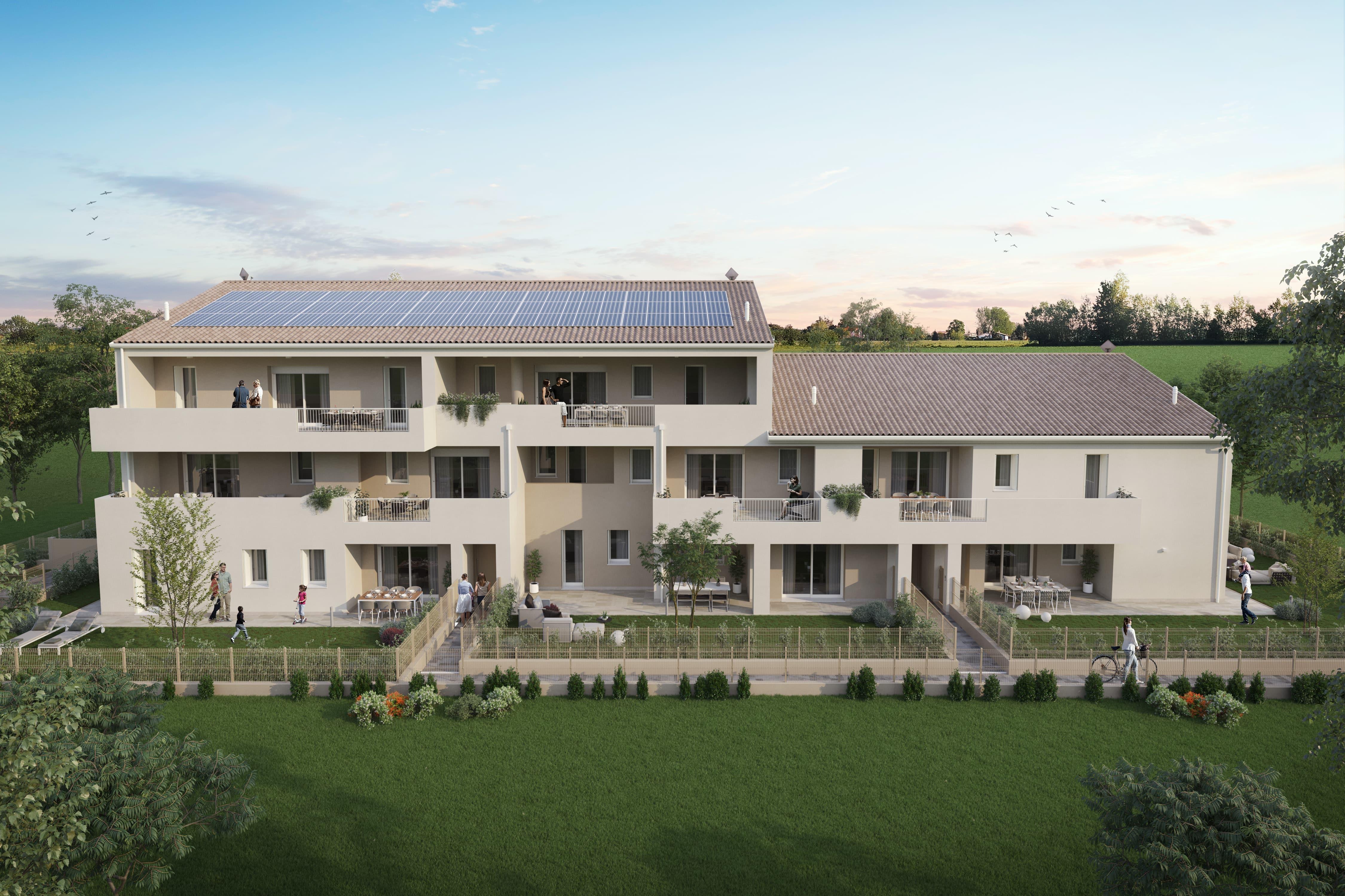 Appartamento due camere con giardino – Salzano via Marconi